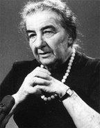 Dijo Golda Meir