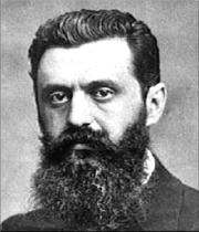 """""""Theodor Herzl dijo: No se si en 5, no se si en 10, pero en 50 años habrá un estado judío"""". (1897)"""