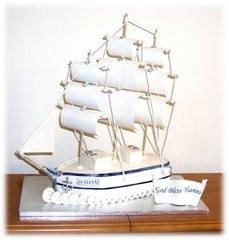 Sailing Ship Cake