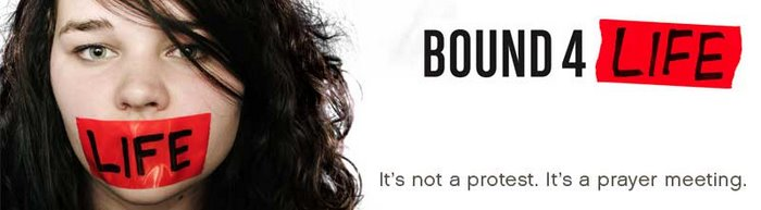 Bound4 Life-praying for abortion to end in the U.S.