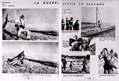 Fotografías de Robert Capa sobre la Guerra Civil Española