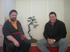 Junto a mi maestro Massimo Bandera
