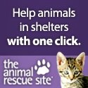 Every click feeds stray animals! The Animal Rescue Site needs your help to feed and care for rescued animals living in shelters and sanctuaries! Help fund food and care for rescued animals every day with a simple click, at no cost to you. Click here now!