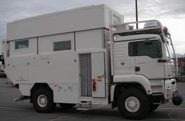 German-made vehicle~Paris to Dakar race