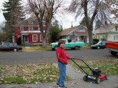 Joe: my lawnmower man