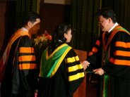 Doctoral Degree Graduation Ceremony, 2005, Asian Institute of Technology(AIT)