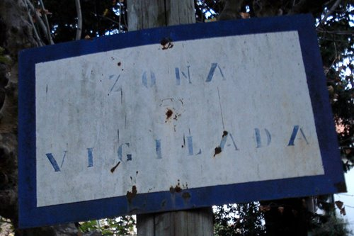 ZONA VIGILADA