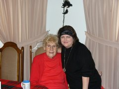 My Sister-in-law Laura (on the right) with my mom's sister Thelma Ryan.
