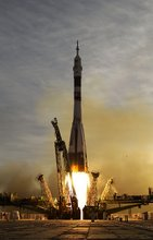 Launch of Soyuz TMA-5