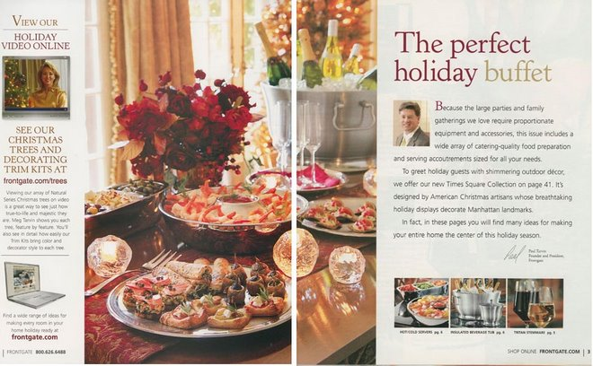 Frontgate Christmas Spread