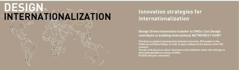 Innovation strategies for internationalization