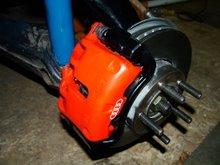 Audi 5000 Turbo brakes