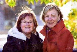 My friend Barbara and I