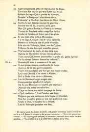 Edición facsímil del Cantar de Mio Cid (verso 1088)