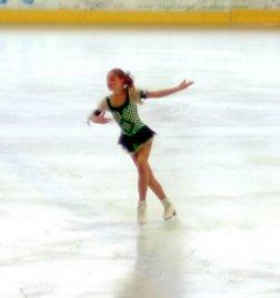 Ich beim Eislaufen