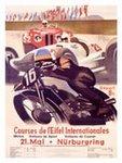Cartel de Nürburgring de época