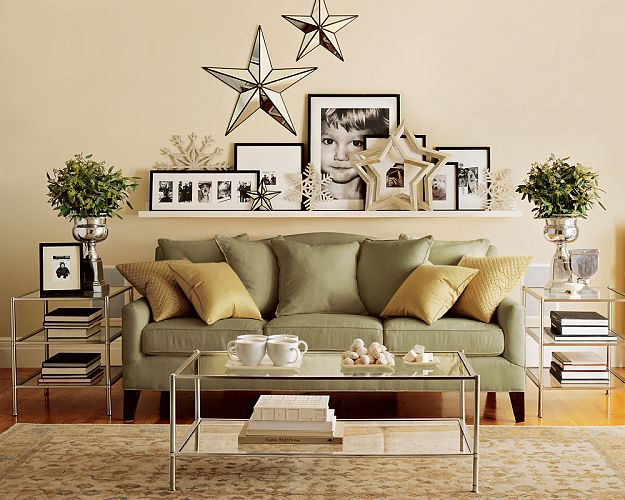 Pottery Barn Living Room Shelf