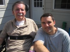 Dad and Mike-Sunday, April 22nd
