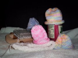 Preemie hats and cover