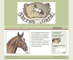 www.Thyrasgard & www.dressyrhastar.se