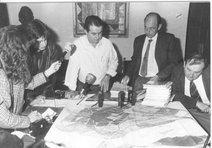 Presentación del primer Estudio de Tráfico 1989