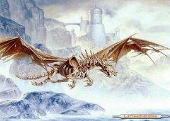 Esqueleto Volando