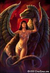 Protegida por el Dragón
