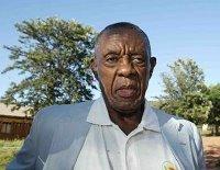 """Former """"President"""" Lucas Mangope!"""