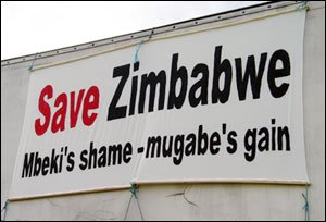 "GALLANT ""SAVE ZIMBABWE"" DEMANDS TO BE PART OF THE ""MBEKI INITIATIVE!"""