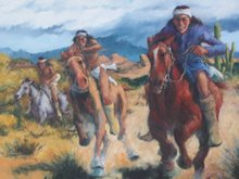 The Race, oil on canvas, 2006