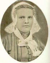 mijn overgrootmoeder Alida de Beer