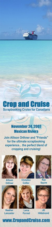 A Scrapbook Cruise for Canadians!
