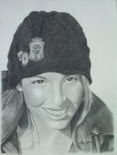 """Ericka"" (Graphite)"
