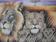 """Proud of Pride""(Colored Pencil)"