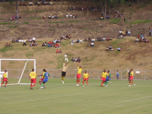 PNG NATIONAL SQUAD GOALKEEPER SAVES