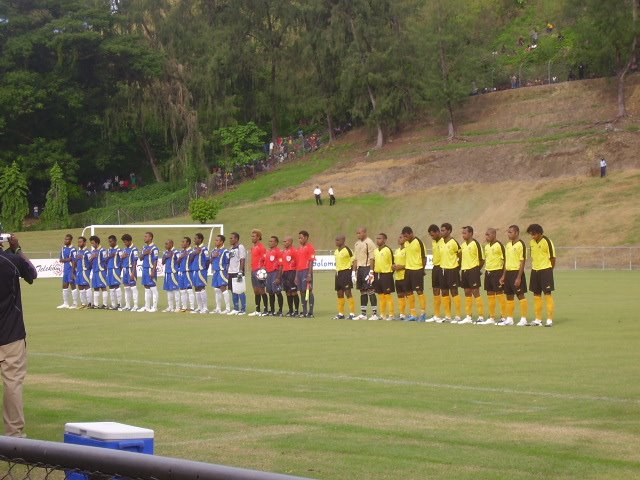 KOSSA FC V PNG NATIONAL FOOTBALL TEAM