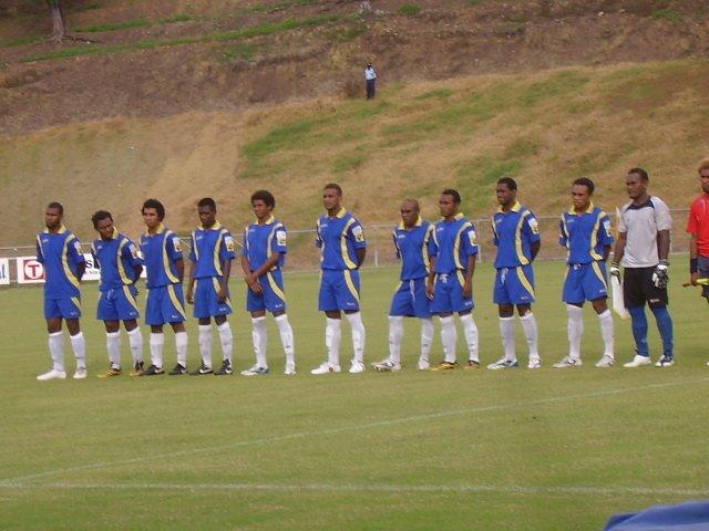 KOSSA FC 1ST 11 LINE UP