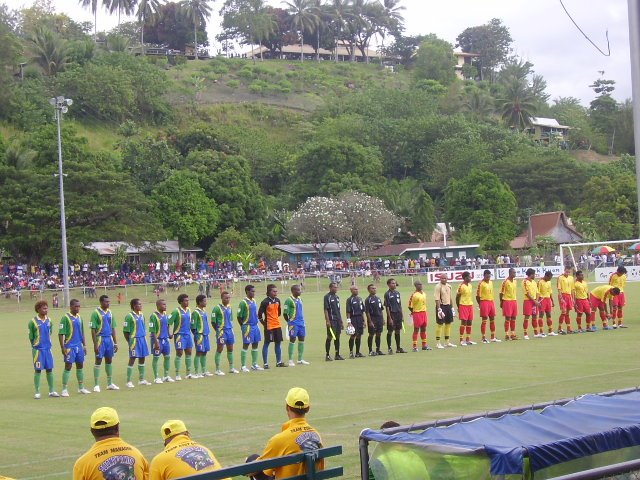 SI NATIONAL FOOTBALL TEAM V PNG NATIONAL FOOTBALL TEAM