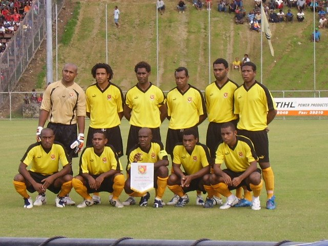 PNG NATIONAL SIDE 1ST 11 LINEUP