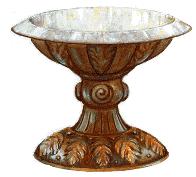 Pia de Bronze - Cristo, nossa purificação Ef 5:26