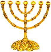 O Candeeiro de Ouro - Cristo a luz do mundo Jo 8:12