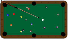 My Pool Table Graphic