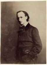 Baudelaire retratado por Nadar... And I'm feelin so bohemian like you...