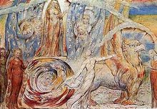 "William Blake's ""Dante and Beatrice"""