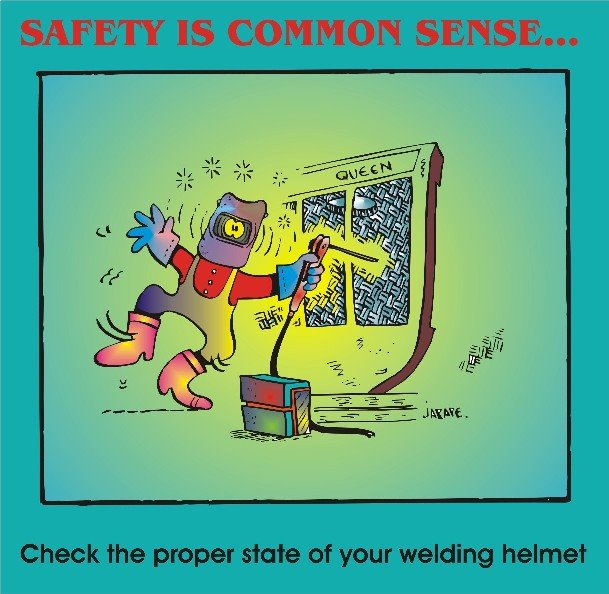 Safety is common sense 005