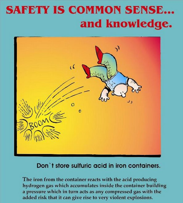 Safety is common sense 002