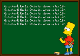 Bart Simpson no nos escuchaba...