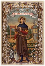 St. Fiacre, pray for us!