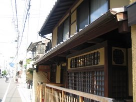 Kyoto Houses Retain their characters