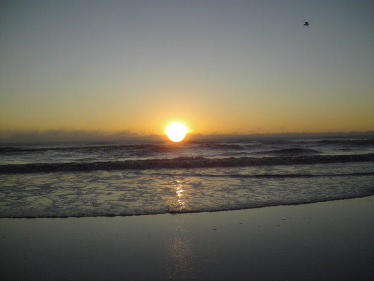 Amaneciendo junto al mar!!!